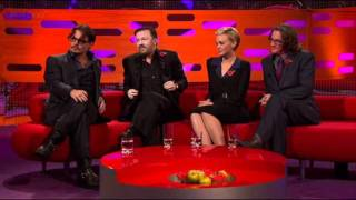 Gervais and Depp on Graham Norton  Part Two