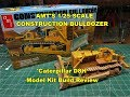 AMT 1/25 CONSTRUCTION BULLDOZER MODEL KIT BUILD REVIEW AMT1086 CATERPILLAR D8H