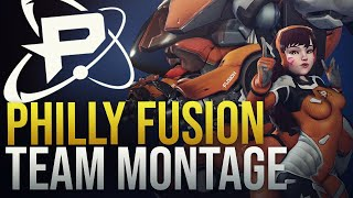 "Best Of ""Philadelphia Fusion""  - Overwatch Montage"