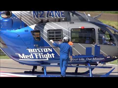 Beth Israel Deaconess Hospital-Plymouth and Boston MedFlight: Part 3 - Boston MedFlight Headquarters