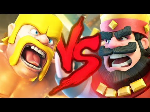 Clash of Clans VS. Clash Royale | Duelo de Titãs