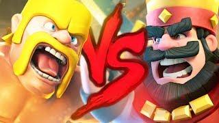 Скачать Clash Of Clans VS Clash Royale Duelo De Titãs