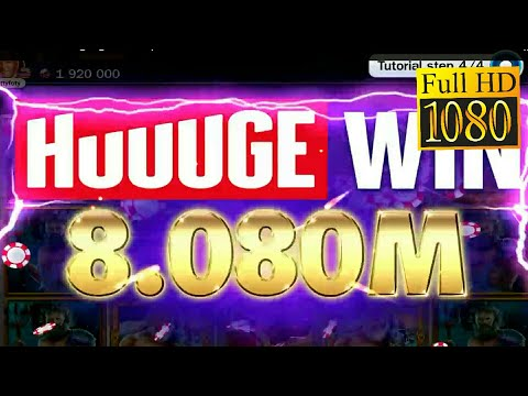 "Lose 10M in 30 min ""Slot Billionaire Casino"" Game Review 1080p Official Huuuge Global"