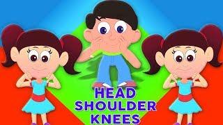 đầu vai đầu gối và ngón chân | vườn ươm vần | Head Shoulder Knee And Toes | Kids Tv Channel Vietnam