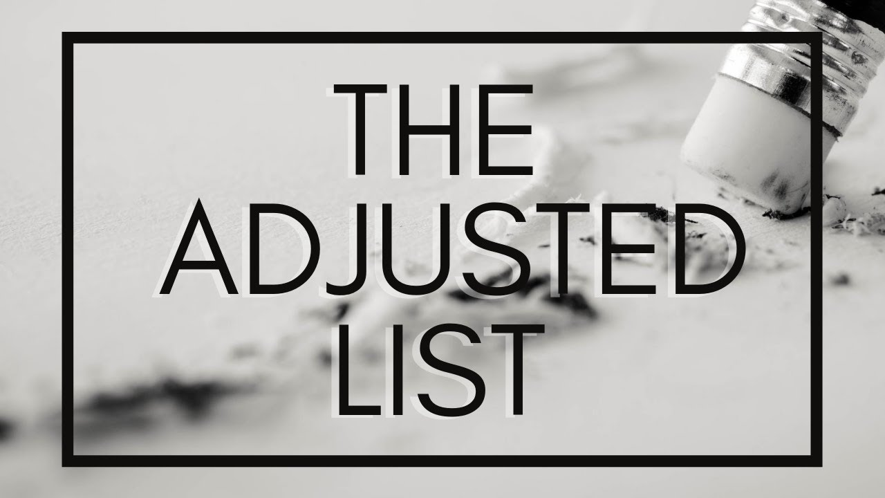 The Adjusted List - Sunday Morning - July 19, 2020 - Sister Marilyn
