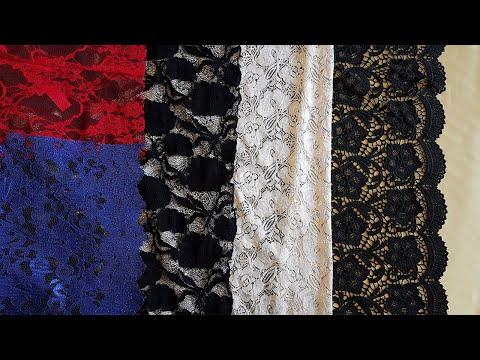 Как сшить гипюровую ткань,кружевную,сетку | Мастер класс