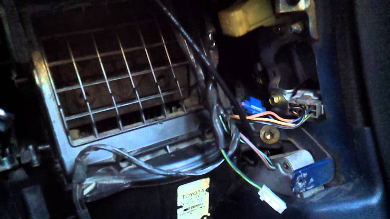 Toyota truck  hilux dash removal and parts location  YouTube