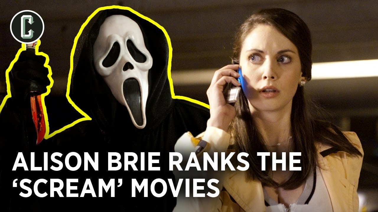 All the Scream Movies Ranked by Scream 4 Star Alison Brie