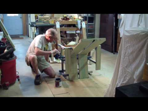 Painting a Wave Hill Chair