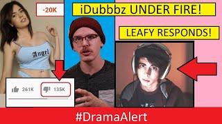 IDubbbz vs His Fans! #DramaAlert PewDiepie & LEAFY RESPOND!!!!