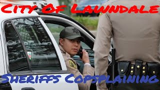 Lawndale Sheriffs Extorting Money From The Public