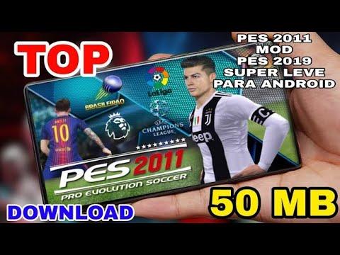 💐 Download pes 11 mod 2018 android apk 50 mb lite | تحميل لعبة بيس