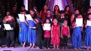 Indian National Anthem By Kids Of Houston Bhakta Samaj oct 14, 2017