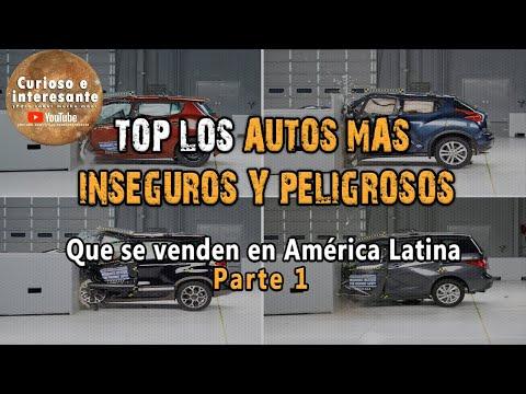 Top ten de los carros más inseguros de Latinoamérica