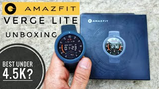 Amazfit Verge Lite Unboxing, Full Set-Up & Features | Best Smartwatch Under 5000?