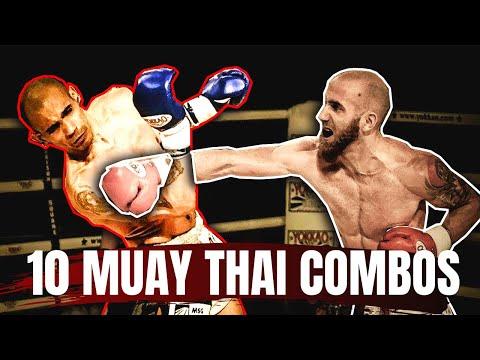 Basic Muay Thai Combos