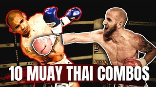 10 Basic Muay Thai Combos | Best Combinations For Beginners