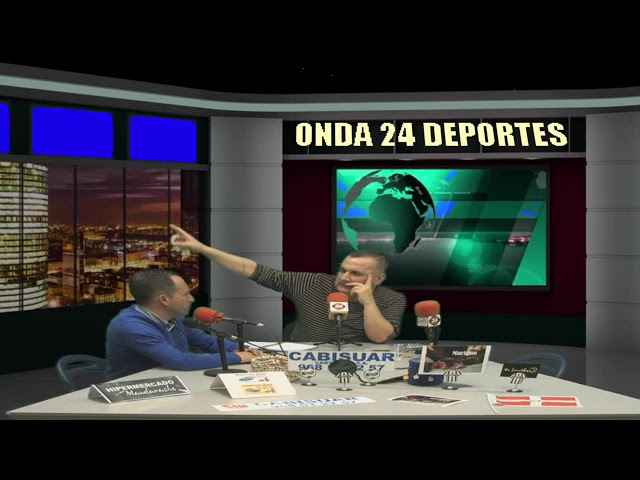 2º TERTULIA ONDA 24 DEPORTES CON DAVID BASCUÑANA