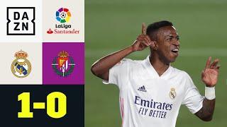 Vinicius Junior rettet die Königlichen: Real Madrid - Real Valladolid 1:0 | LaLiga | DAZN Highlights
