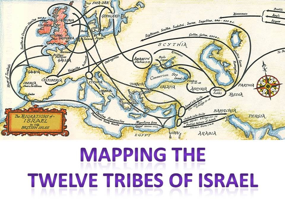 Mapping The Tribes Of Israel - YouTube on
