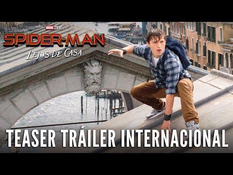 SPIDER-MAN: LEJOS DE CASA. Teaser Tráiler Internacional HD en español. Ya en cines.