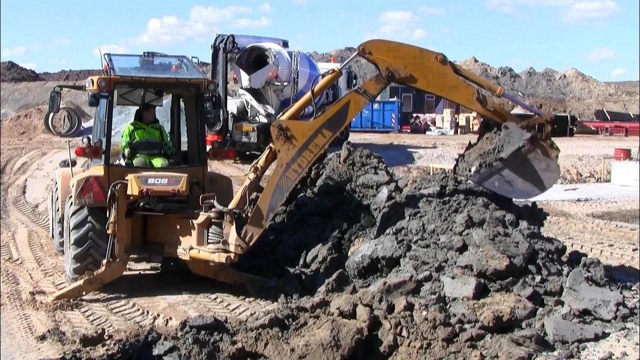 Digging Large Pond