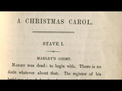 """""""A Christmas Carol"""" by Charles Dickens, Chapter 1: Marley's Ghost, Read by Gary Harmon - YouTube"""