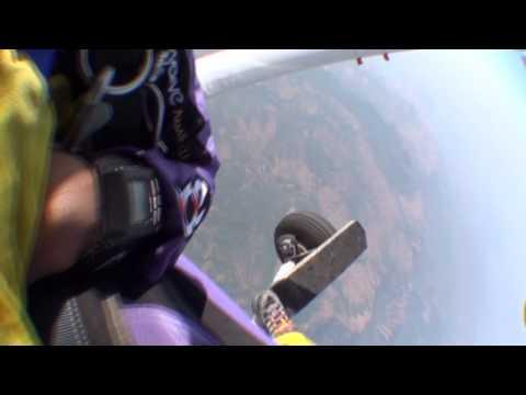 Tanvir - First Sky Dive at Lonavala