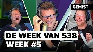 Sander pakt Coen terug en deelt zijn nummer! | De Week Van 538