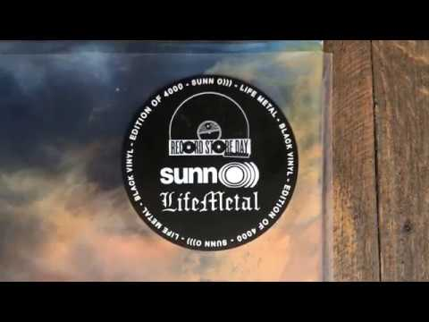 Unboxing SUNN O))) - LIFE METAL (Record Store Day Exclusive Edition)