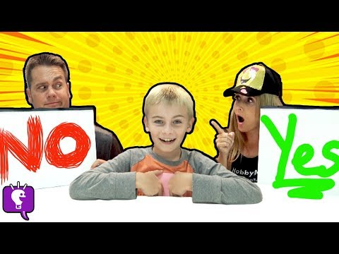 Who Knows Me Better! Kids VS Parents Challenge with HobbyKidsTV