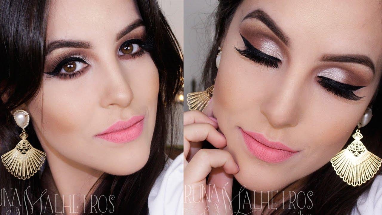 Conhecido Maquiagem Fácil Noiva Delicada - YouTube HO92