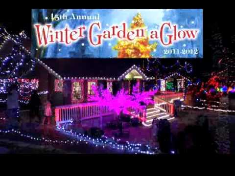 Idaho Botanical Garden Winter Garden Aglow 2011 Youtube