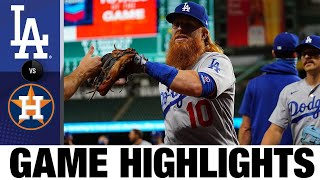 Dodgers rally in 5th in 52 win vs. Astros | DodgersAstros Game Highlights 7/28/20
