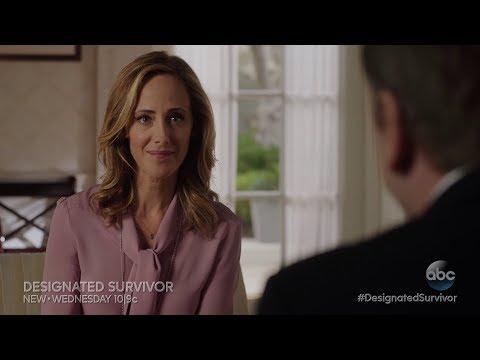 Designated Survivor 2x12  Kim Raver as Andrea Frost