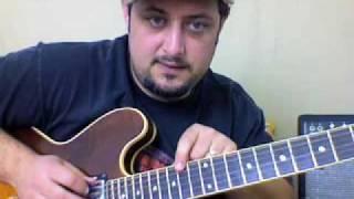 Guitar Lesson - Iron Man by Black Sabbath