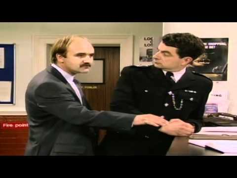 Don't we all hate that fannying about - The Thin Blue Line