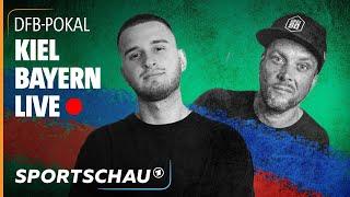 DFB-Pokal re-live: Holstein Kiel - Bayern München mit IamTabak und Basti Red   Sportschau