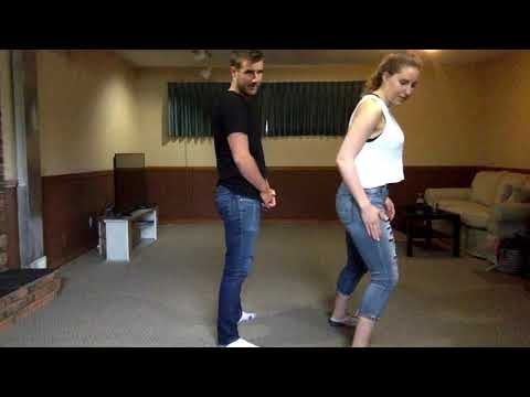 Learn How To Country Line Dance - The Electric Slide (Country Version)