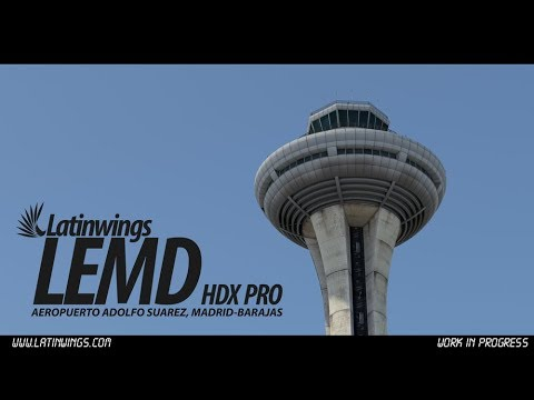 Madrid Barajas International Airport (LEMD) Download & Setup for FSX
