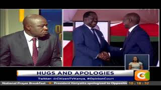 Opinion Court I Hugs and Apologies #OpinionCourt