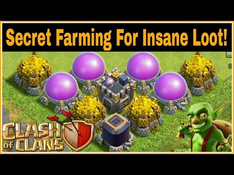 (HINDI) SECRET FARMING TIPS AND TRICKS FOR 2 MILLION LOOT'S EVERY HOUR   Clash Of Clans