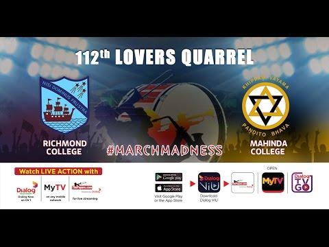 112th Lovers Quarrel l Richmond College v Mahinda College - Day 2