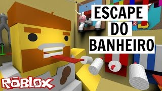 ROBLOX-ESCAPE from the BATHROOM
