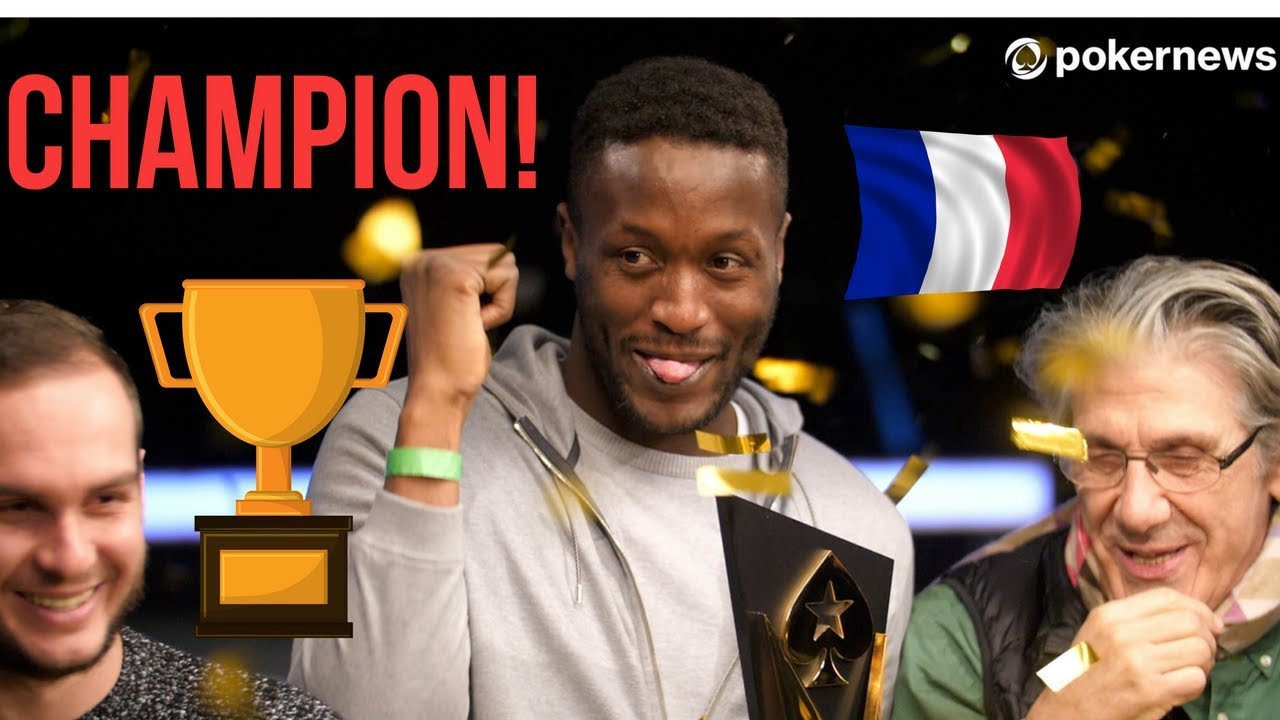 Kalidou Sow Wins Last Ever PokerStars Championship in Prague