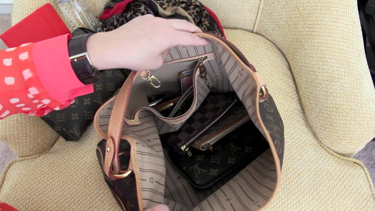 86632595c19c What s in my purse  Louis Vuitton Delightful PM - YouTube