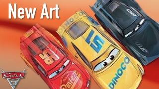 Cars 3 New Book Art & Dinoco Cruz Ramirez - Speculation & Breakdown