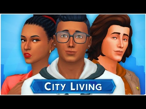 Let's Play the Sims 4 City Living (Part 8) Surprise Visit
