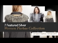 7 Featured Silver Women Parkas Collection Amazon Fashion, Winter 2017