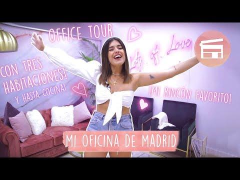 OFFICE TOUR - OS ENSEÑO MI OFICINA DE MADRID - DULCEIDA